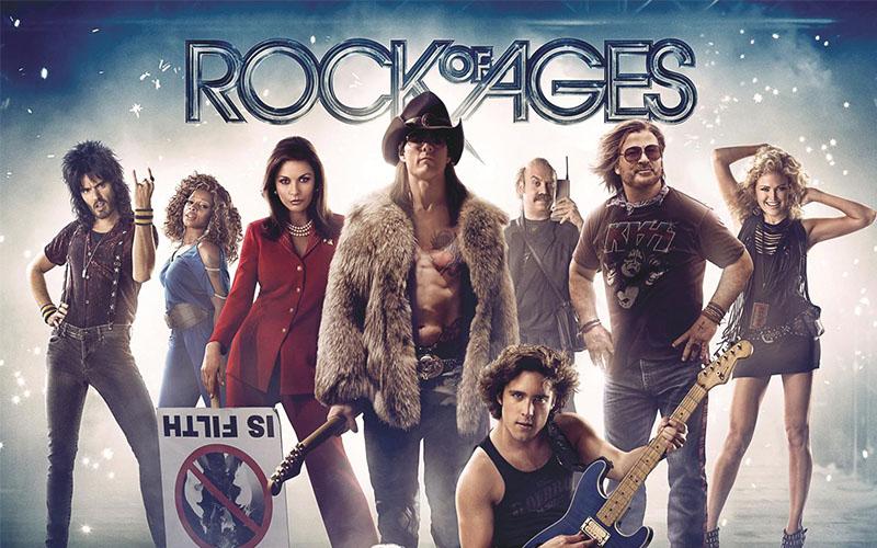 """Rock of Ages """"มนต์รักเพลงร็อค"""" หนังดนตรีที่น่าสนใจ"""